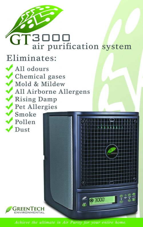 GT3000 advanced air purification system